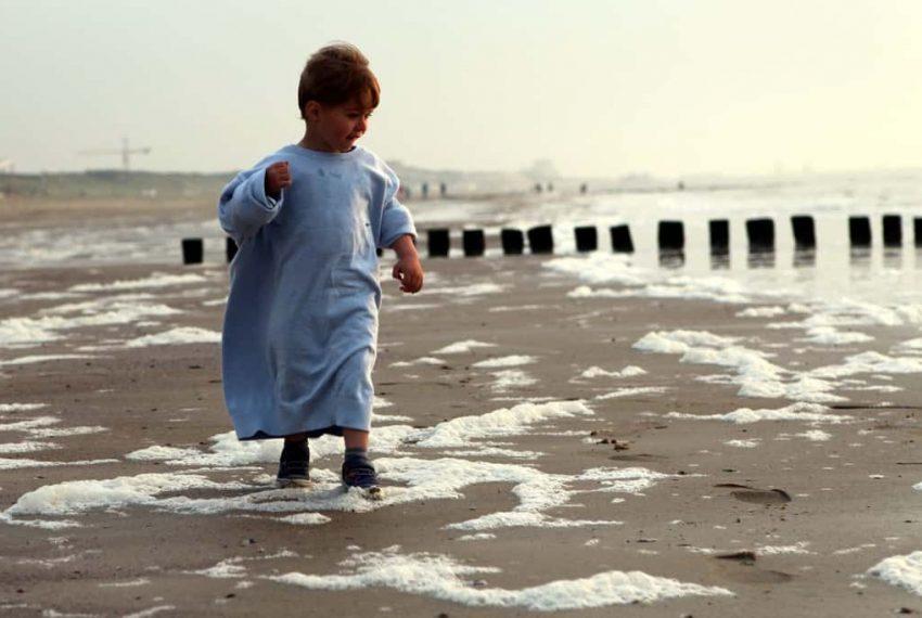 Kind aan zee Cadzand