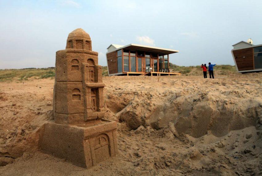 Zandsculptuur Cadzand